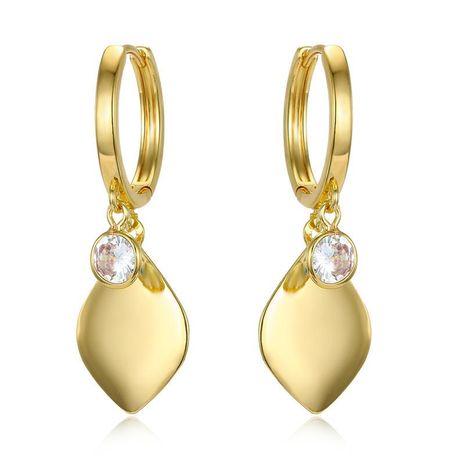 Pendientes geométricos de circonita cúbica Pendientes de borla de diamantes Pendientes de diamantes de oro y plata NHGO196154's discount tags