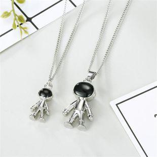 Accessories new astronaut necklace alloy original robot pendant necklace NHGO196165's discount tags