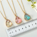 Jewelry Original Shell Necklace Imitation Natural Stone Water Drop Pendant Resin Necklace NHGO196166