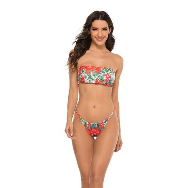 Bikini Swimsuit Digital Print Bikini Hot Sale BIKINI NHHL196439