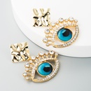 earrings acrylic diamond earrings female retro earrings jewelry NHLN196525