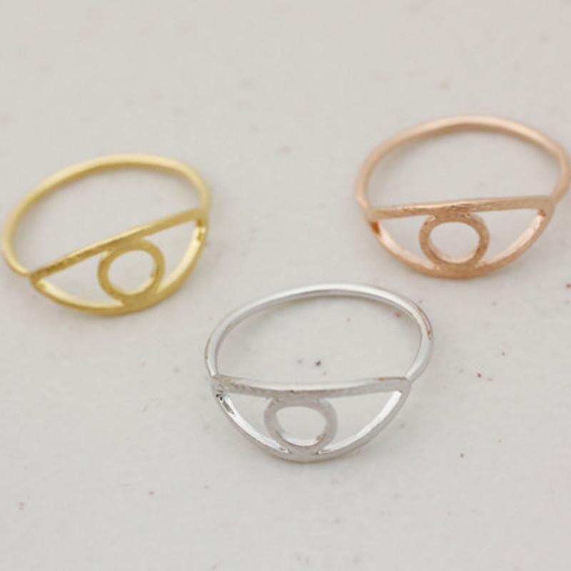 Evil Skull Eye Ring Single Jewelry Ring Wholesale NHCU196691