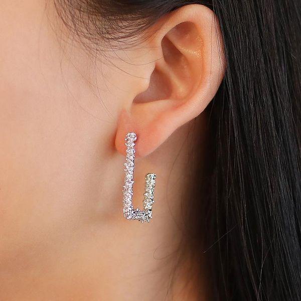 Best selling earrings vintage geometric carved earrings frosted square earrings gold pattern earrings women NHCU196710