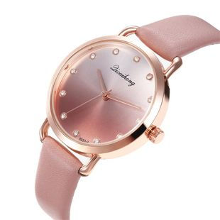 New Ladies Watch Fashion Creative Leopard Dial Diamond Watch Belt Quartz Watch NHHK196739's discount tags