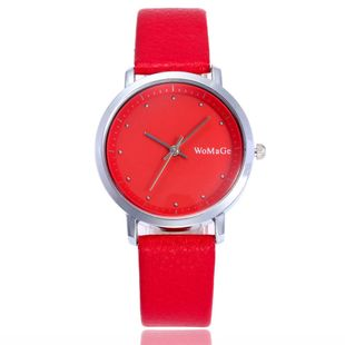 Korean Women's Watch Fashion Simple Atmospheric Belt Watch Casual Belt Watch Student Watch Wholesale NHSY196744's discount tags