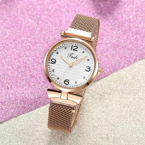 Fashion simple ladies watch trend diamond diamond bracelet watch magnet band watch women NHSY196750's discount tags