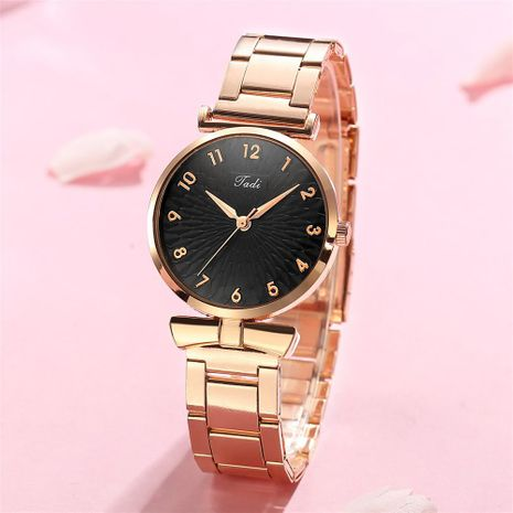 Stylish Simple Ladies Steel Band Watch Trend Digital Face Quartz Watch Women's Watch NHSY196763's discount tags