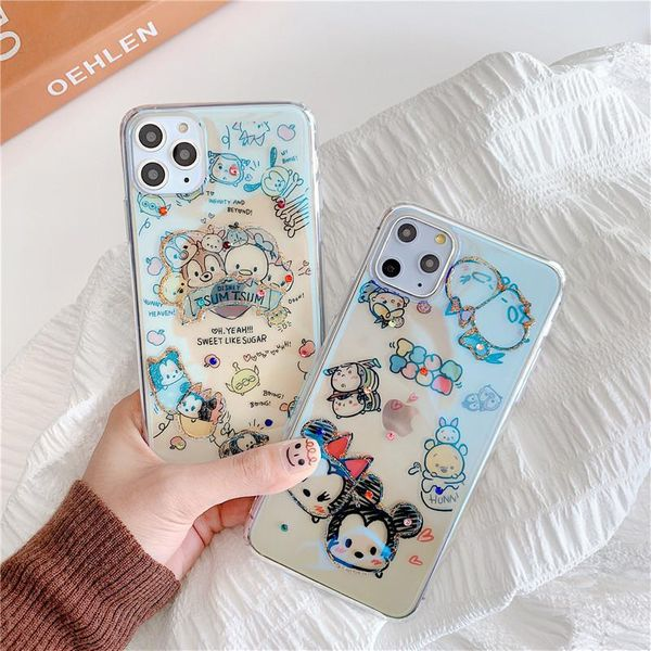 Cartoon Meter iPhone 11promax Mobile Shell 8plus Epoxy Apple X Soft Applicable xsmax NHHC196817