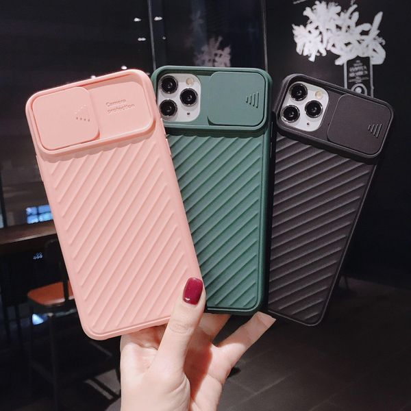 New Apple 11 mobile phone case for XSMAX matte solid color Apple X / XR silicone 8plus phone case NHHC196829