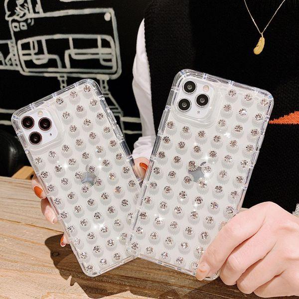 Full of diamond 11promax mobile phone case X / XR tide brand XSMAX iPhone 8 phone case NHHC196830