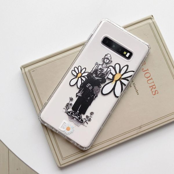 Daisy hand-painted Samsung note10plus mobile phone case s10plus soft shell s8 s9 phone case note9 NHHC196840