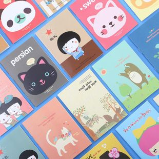 Stationery creative cute fresh cartoon small book student notebook notepad NHZE196934's discount tags