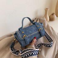 Korean version of the new fashion wild simple postman handbag retro wide shoulder mini shoulder messenger bag NHPB196985