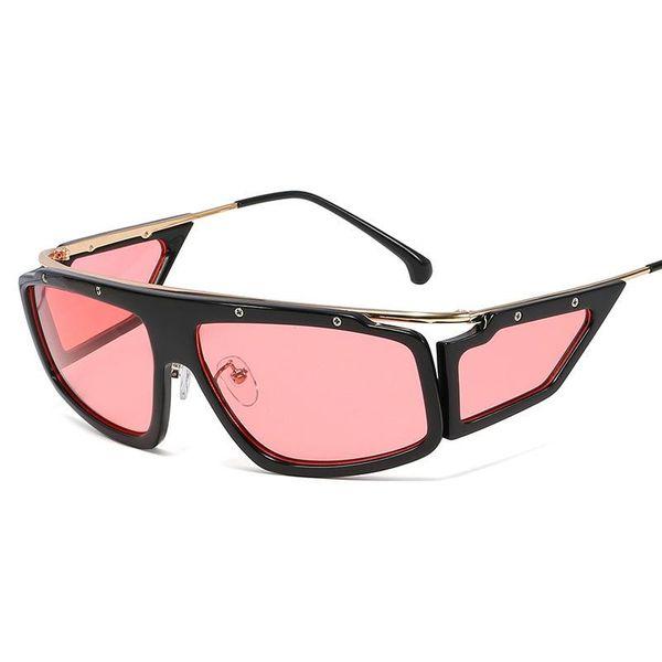New Square Sunglasses Metal Leg Sunglasses Cycling Glasses NHFY196670