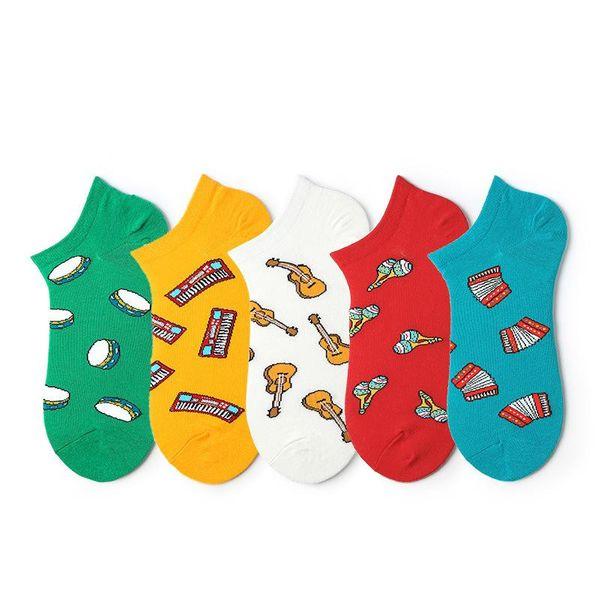 Socks female tide socks female boat socks shallow mouth cute male student socks NHQY196991