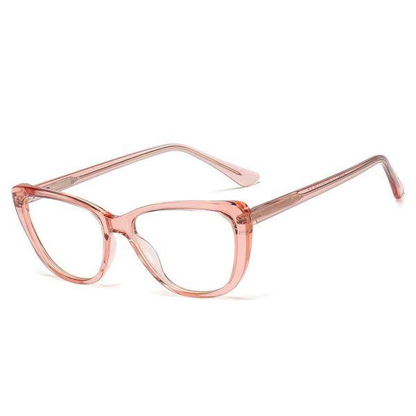 New Products Simple TR90 Spring Leg Frame Mirror Female CP Ferrule Plane Mirror Myopia Glasses Men NHFY196667