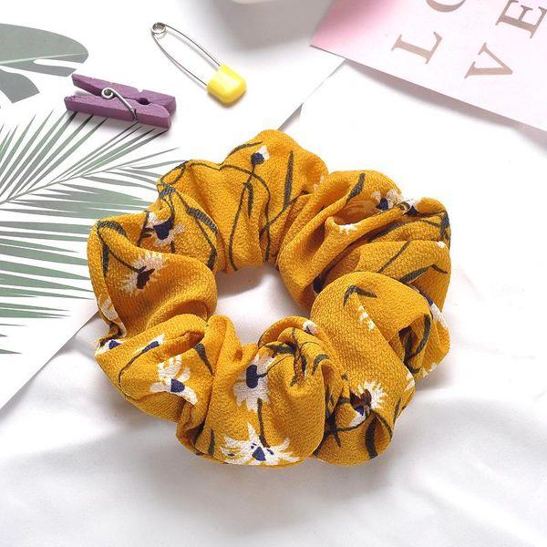Korean hair ring cloth hair rope hair accessories adult rabbit hair cute tie hair rubber band head rope NHOF197014