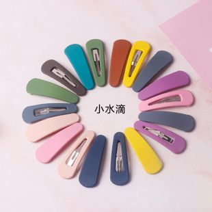 fashion girl hair accessories frosted bb clip bangs clip hairpin color word clip hair clip headdress NHOF197016's discount tags