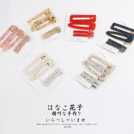 fashion side clip acetate hair clip hair accessories duckbill clip wholesale NHOF197053's discount tags