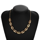New Jewelry Female Metal Alloy Shell Necklace Bohemian Necklace Wholesale NHPF197066
