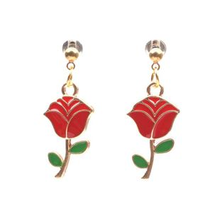 fashion earring jewelry wholesale rose earrings wholesale NHYL197089's discount tags