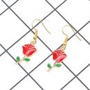fashion earring jewelry wholesale rose earrings wholesale NHYL197089