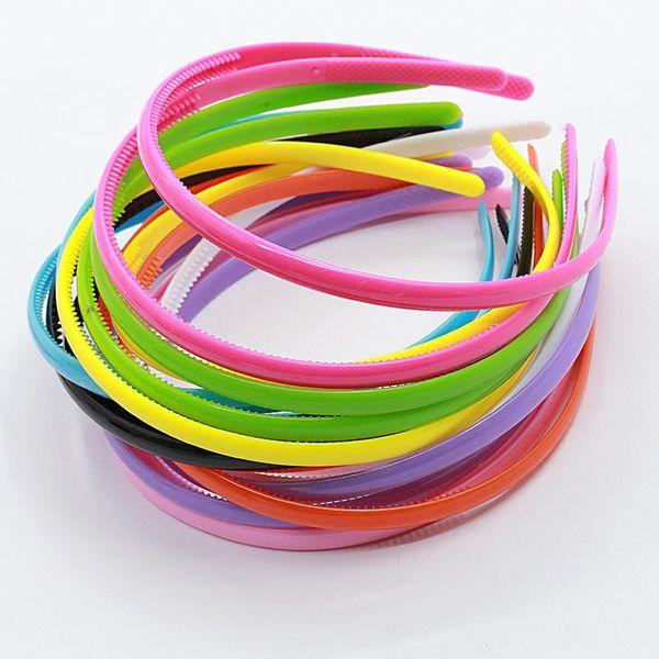 Korean Fashion Candy-colored Fine Hair Band Plastic Acrylic Hairpin Headdress Hair Accessories NHDP197174