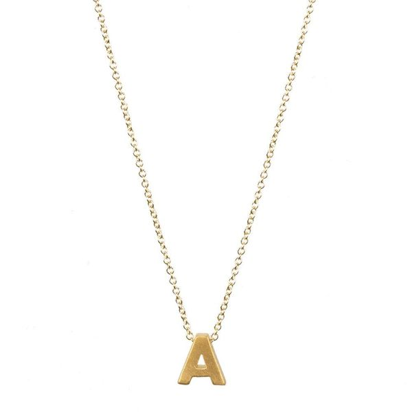 Fashion 26 Letters Necklace Clavicle Chain Simple Necklace Wholesale NHCU197286