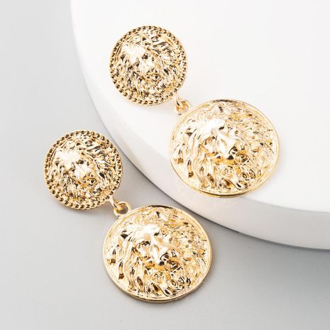 Pendientes retro exagerados de moda con incrustaciones de perlas con incrustaciones de perlas femeninas pendientes de borlas étnicas boho NHLN197348's discount tags