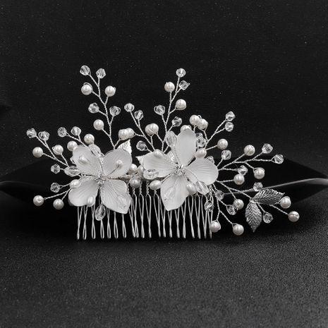Moda Wedding Headwear Nuevo producto Insertar Hecho a mano Crystal Hair Comb Fairy Wedding Jewelry NHHS197398's discount tags