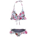 New printed split bikini swimsuit sexy flash triangle women39s swimwear wholesale NHHL197485