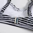 New striped printed split bikini swimsuit sexy triangle women39s swimwear wholesale NHHL197515