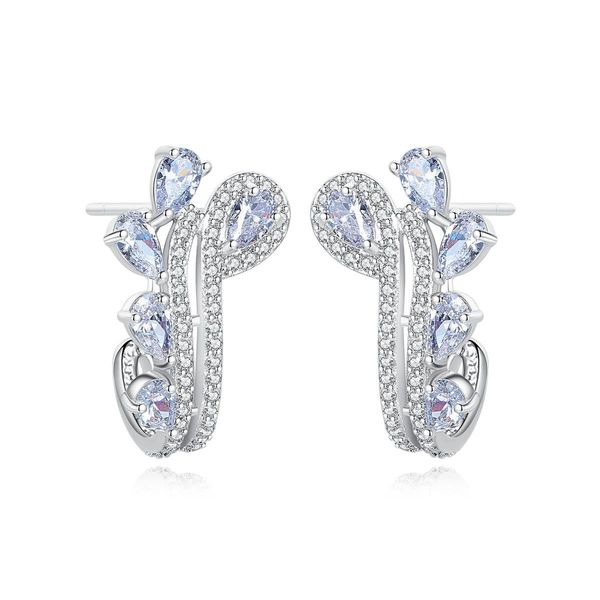 Fashion earrings fashion Korean banquet copper stud earrings NHTM197298