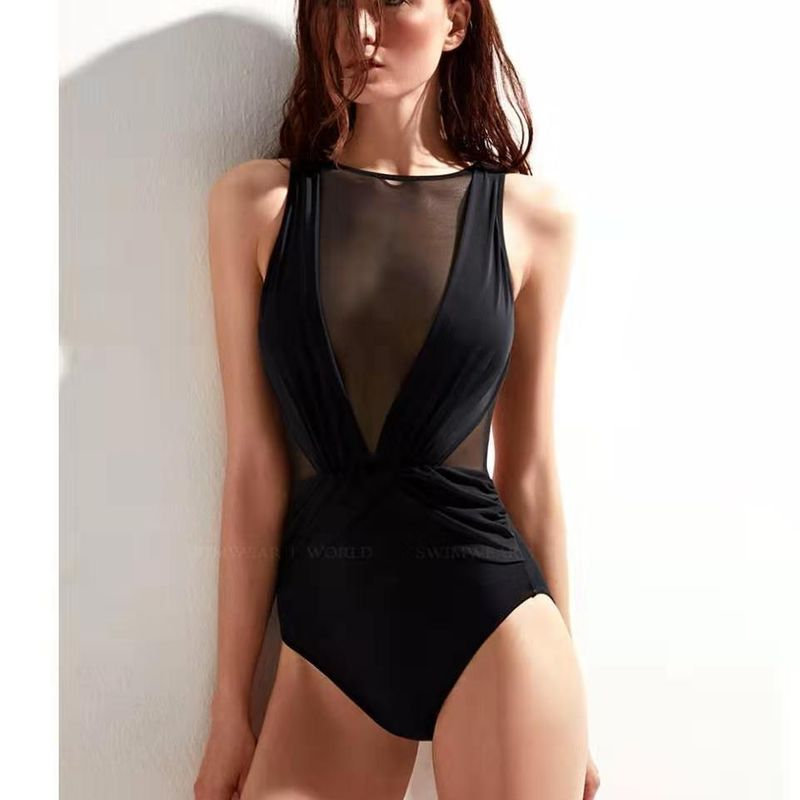 Bikini sexy explosion ladies swimwear one-piece swimsuit NHHL197672