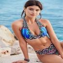Women39s Bikini Sexy Swimsuit Split Print Leopard Swimsuit NHHL197696