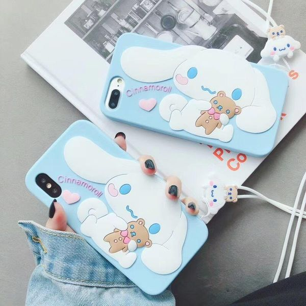 Fashion iPhone xsmax mobile phone case for 8plus soft silicone iPhone X iPhoneXR phone case NHDV197913