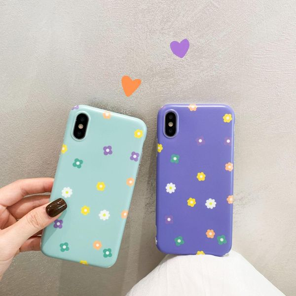 Fashion small flowers iPhone 7 / 8plus iPhone X / XR xs max phone case NHDV197917