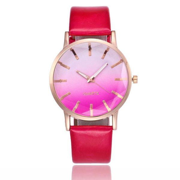 Ladies watches wholesale geometric glass quartz strap casual watch NHSY197952
