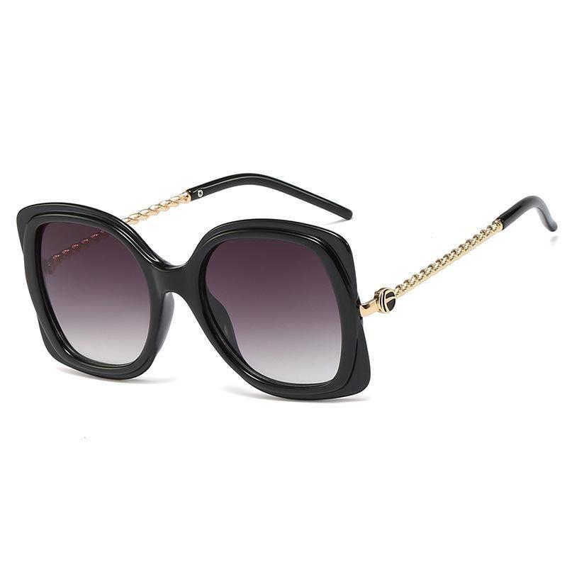 New temple legs twist metal frame sunglasses sunglasses personalized glasses NHFY197893