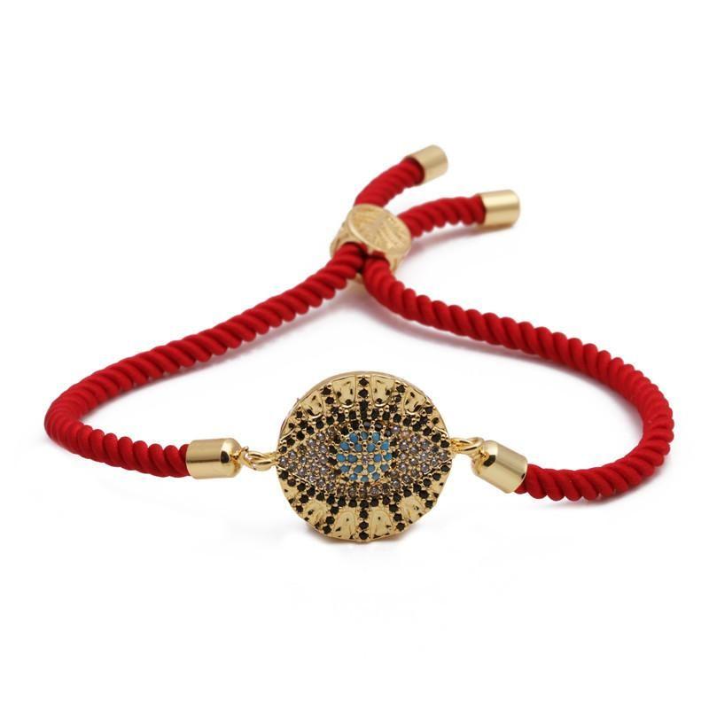 Hot Devil39s Eye Bracelet Fashion Trend Zircon Valentine39s Day NHYL198132