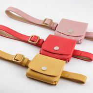 Vintage belt bag ladies belt bag key phone dual-use women decorative thin belt NHPO198252