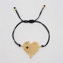 Fashion Love Women39s Bracelet Miyuki Beaded Woven Lips with Crystal Tassel Jewelry NHGW198289