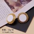 NHOM551667-White-silver-stud-earrings