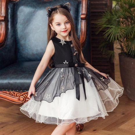 Nouvelle robe pour enfants tutu jupe filles princesse étoiles net fil robe enfants robe NHTY198305's discount tags
