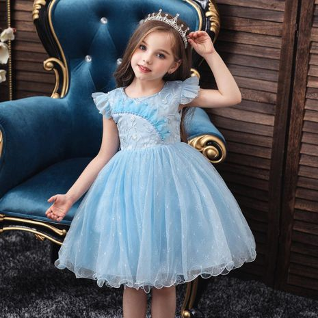 Robe de princesse robe de bébé d'un an pettiskirt robe nette pour enfant robe de lavage pour bébé NHTY198314's discount tags