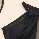 Pure color onepiece sexy mesh stitching women bikini wholesale NHHL198339