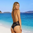 New swimsuit onepiece printed swimsuit bikini NHHL198344