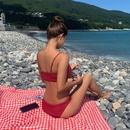 New split bikini with slim sexy bikini cover NHHL198367