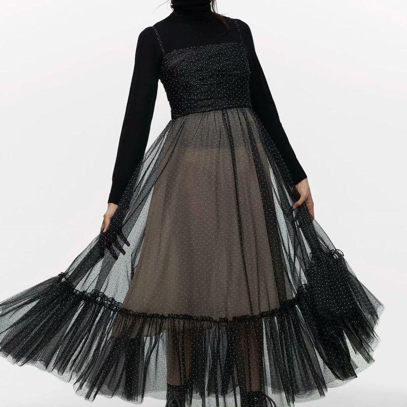 Fashion wild camisole dress wholesale NHAM198453