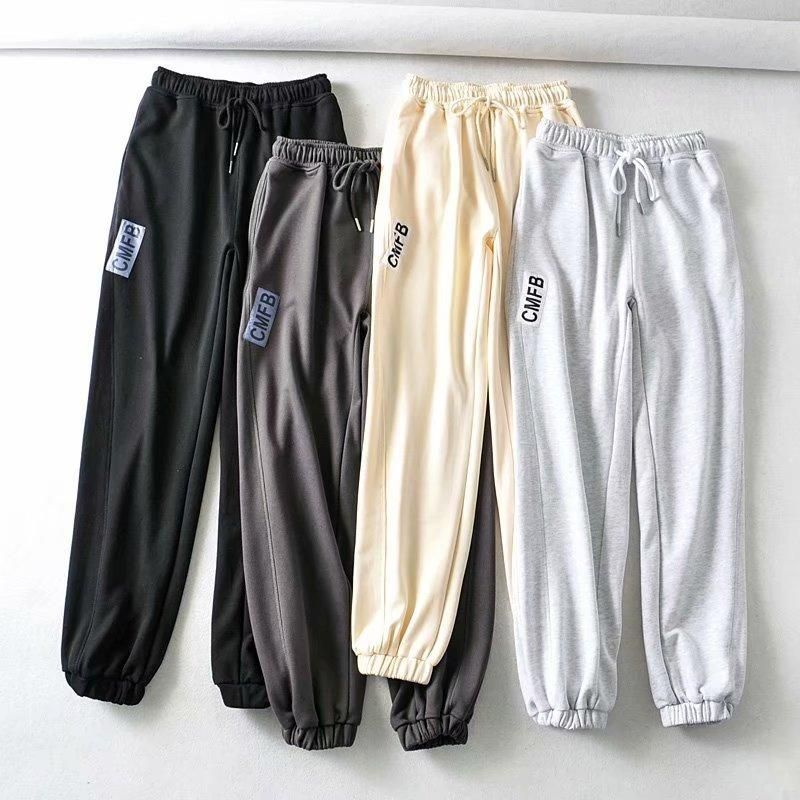Wholesale Spring Style Letter Modified Women's Guard Pants Sweat Pants Casual Pants NHAM198472